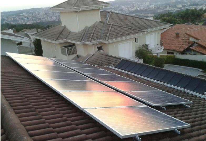 Projeto de geração de energia solar fotovoltaica em bragança paulista. ensolar