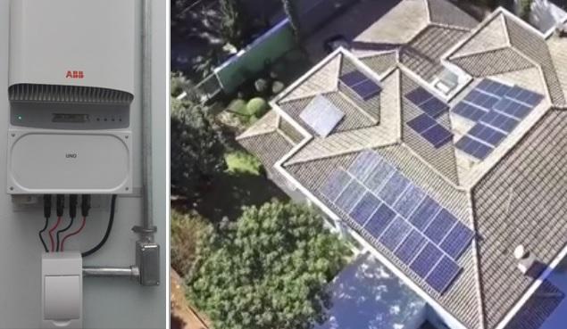 residência em Mairiporã projeto de geração de energia solar fotovoltaica realizado pela ensolar