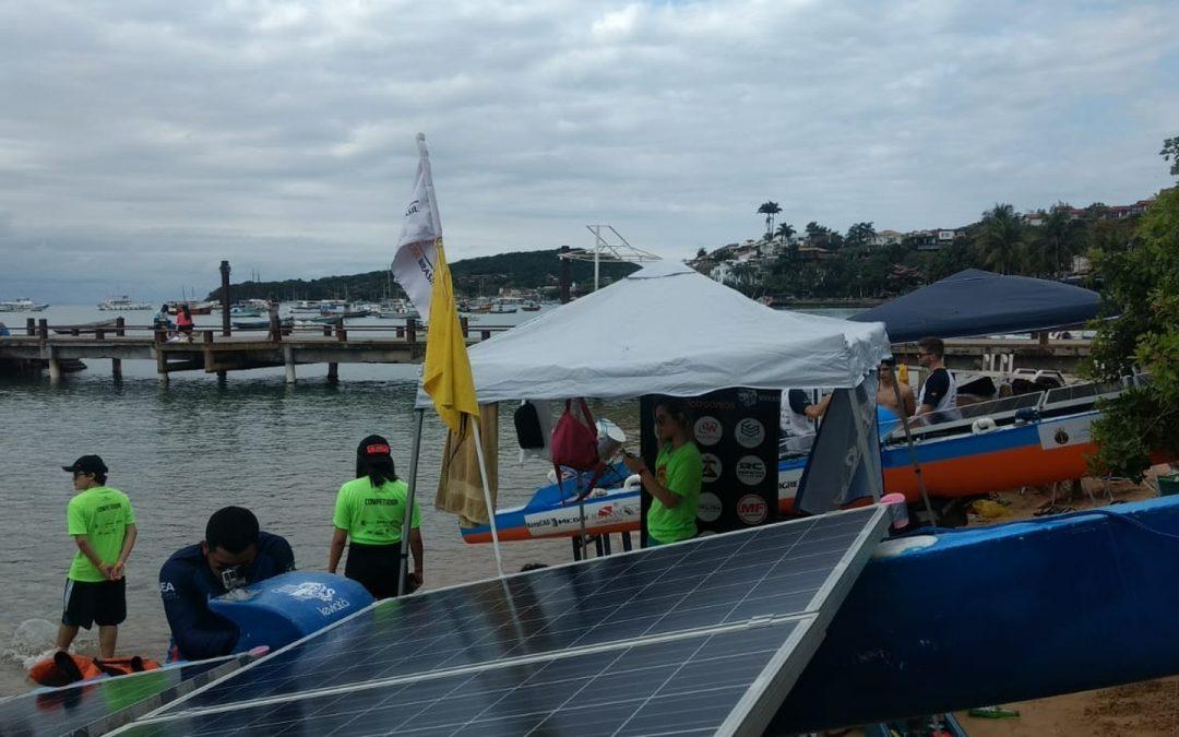 Competição de barcos conta com energia solar fotovoltaica no Rio de Janeiro